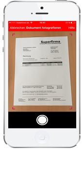 Fotoüberweisung mit der Sparkassen-App