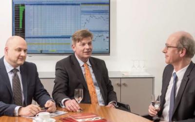 Die Private Banking-Experten der Sparkasse Bremen (v. l.): Rolf Claaßen; Stephan Bruns und Volker Warnke