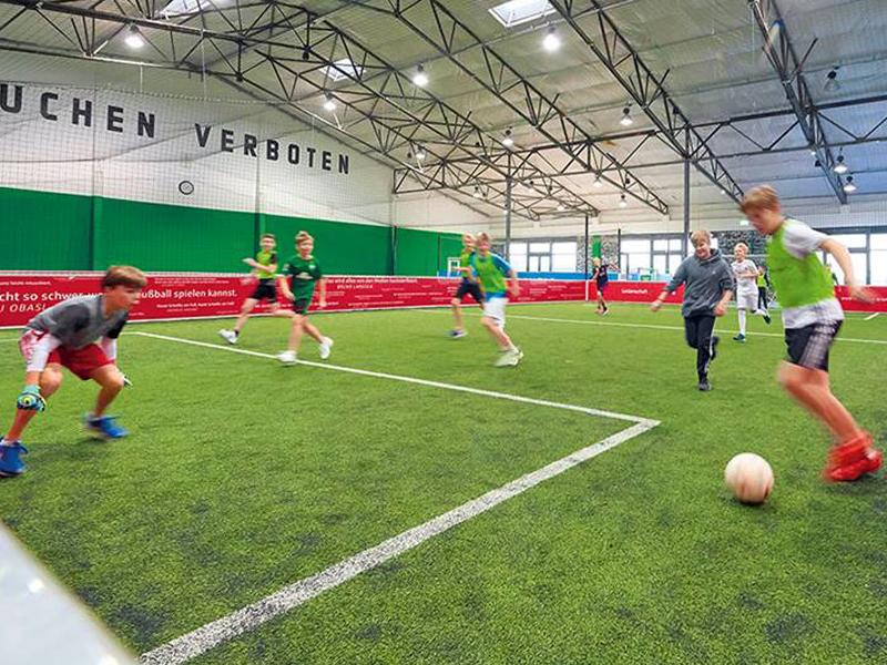 Offizielle Fußballhalle Werder Bremen