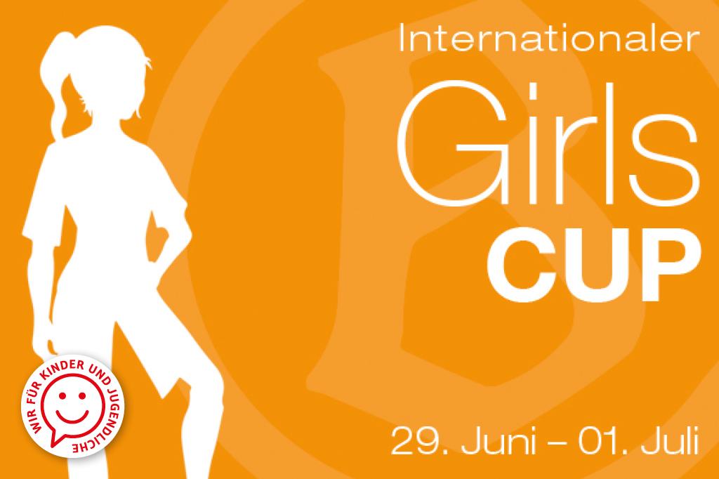 Mädchenmannschaften der E bis B Jugend können bei dem diesjährigen internationalen Girls Cup gegeneinander kicken. Der sportliche Saisonabschluss geht vom 29. Juni bis zum 1. Juli.