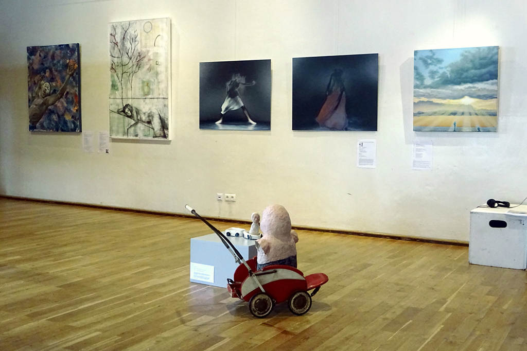 """Im Bürgerhaus Hemelingen kann die Ausstellung """"Die Teile und das Ganze"""" vom 24. bis zum 27. Juni angesehen werden"""
