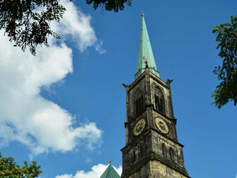 Turmperformance (c) Kulturkirche Bremen