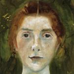 Paula Modersohn-Becker Selbstbildnis, frontal, 1897, Aquarell, Paula Modersohn-Becker-Stiftung, Bremen, Privatbesitz